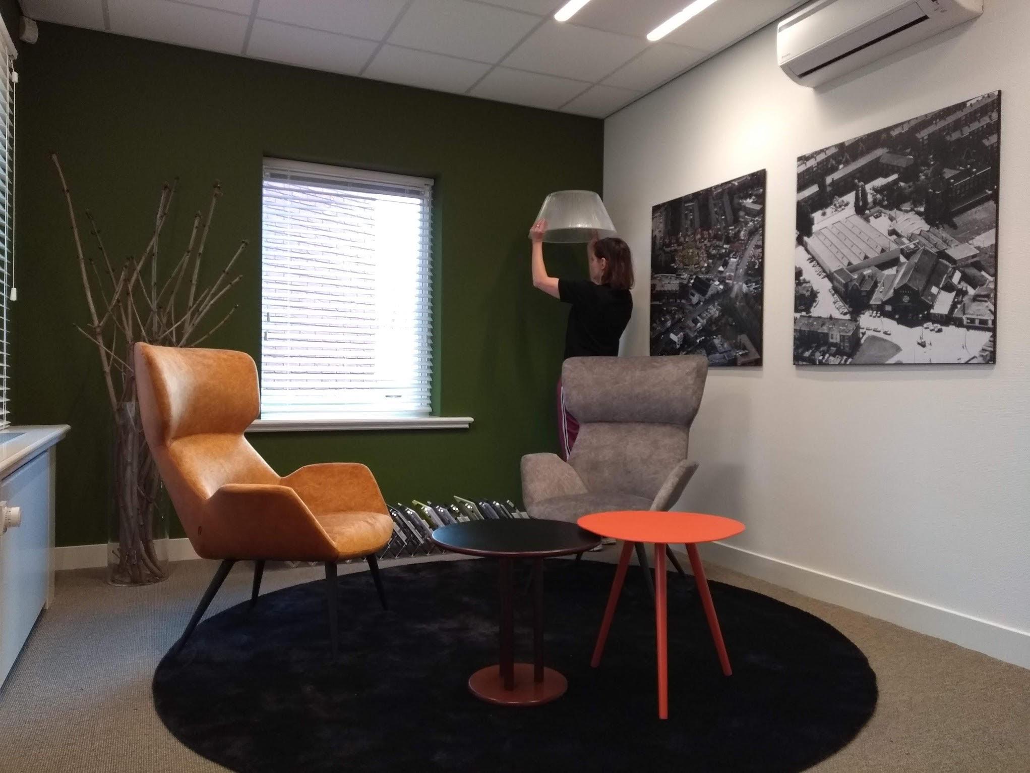 Ontwerp en inrichting kantoorpand Breda