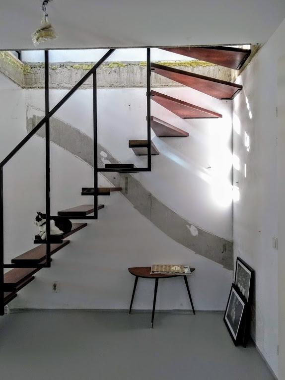 Ontwerp trap voor nieuwbouwhuis